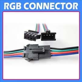 Konektor za RGB 5050 2835 led traku
