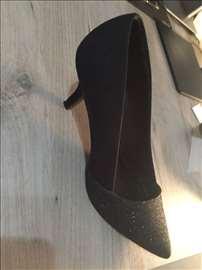 Svečane crne cipele Deichmann/Graceland