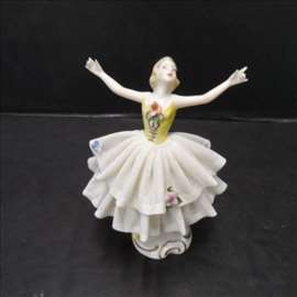 Dresdenski porcelan balerina