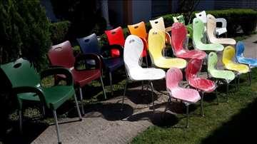 Extra kvalitetne i povoljne plastične stolice