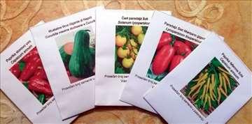 Seme povrća i začinskog bilja