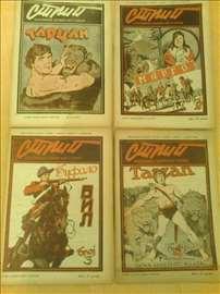 Strip, 1951, Ilustrovani zabavni list u stripu,1-4