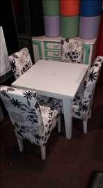Ikea sto i 4 stolice