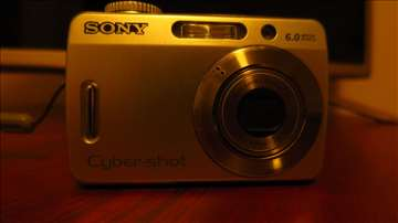 SONY fotoaparat 6.0 MP