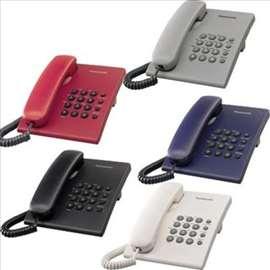 Najjeftiniji Panasonic telefon, kx-ts500, novo!