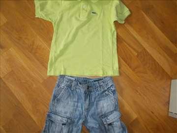 lacoste majca+beneton bermude 110
