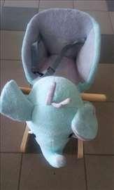 Stolica za ljuljanje slon