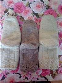Vunene čarape ručni rad akcija!!!