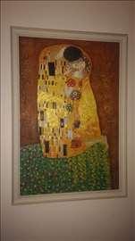 Prodajem reprodukciju Gustav-a Klimt-a, The Kiss