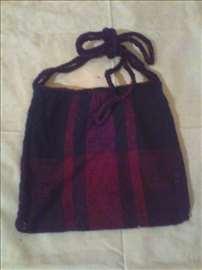 Ručno tkana torbica