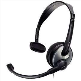 Naglavne slušalice za fiksni telefon, Jack 2,5mm