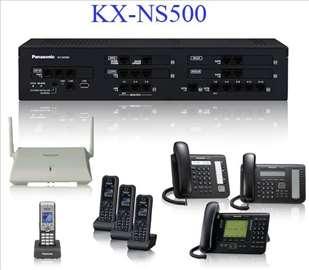Panasonic centrala kx-ns500, novo-garancija 2 god.