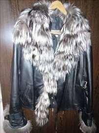 Nove top kožne jakne sa prirodnim krznom