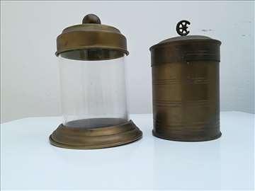 Stare mesingane posude za kafu i šećer