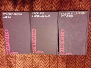 Agatha Christie-3 knjige