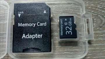 Memoriska kartica 32gb i micro sd 32gb