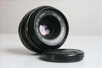 Tessar 50mm f:2.8 Carl Zeiss Jena DDR na M42 navoj