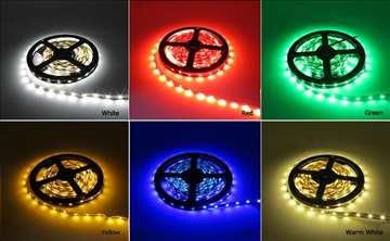 Toplo bela,hladno bela,plava ili zelena LED traka