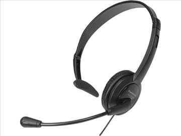 Naglavne slušalice za fiksne telefone, 2,5mm Jack
