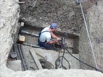Podbušivanje za vodu,struju,gas,kanalizaciju,telef