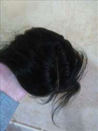 Teme na klipse, 100% prirodna kosa, perika