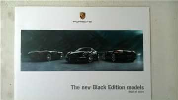 prospekt Porsche The new Black Edition models 05-1