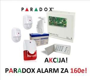 Alarm Paradox SP 4000 sa 3 detektora NV 5 komplet