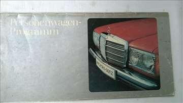 Prospekt Mercedes 123(200D,220D,240D,300D,200,230,