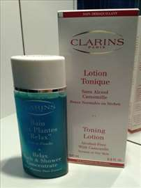 Clarins - Tonik za lice sa kamilicom + Shower gel