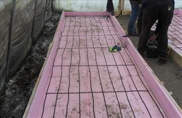 Kablovi grejaci za grejanje rasada plastenika