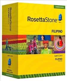 Rosetta Stone Totale V5 - filipinsk jezik 3 nivoa