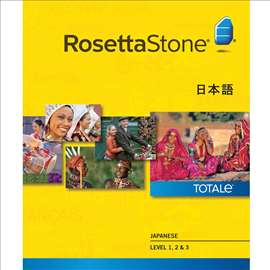 Rosetta Stone TOTALe V5 - Japanski Jezik 3 nivoa
