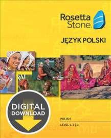 Rosetta Stone TOTALe V5 - Poljski Jezik 3 nivoa