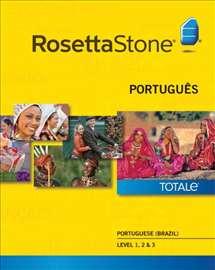 Rosetta Stone Totale V5-portugalski jezik, 3 nivoa