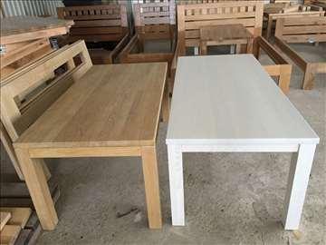 Trpezarijski stolovi od jasena, hrasta