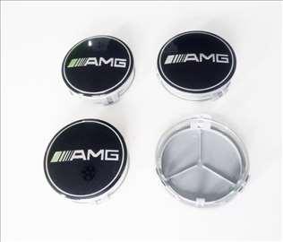 Cepovi za felne Mercedes AMG 75mm