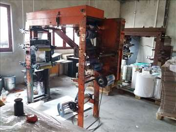 Mašina za flekso štampu pet boja 2 mašine