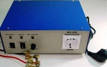 MC200W pretvarač napona i punjač sa 12V~220V