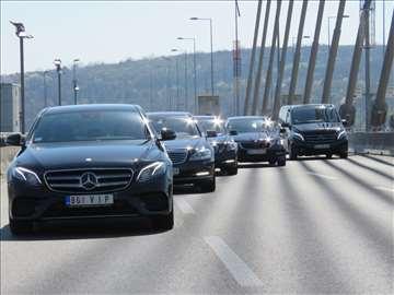 Prevoz putnika na relaciji Beograd-Zagreb-Beograd