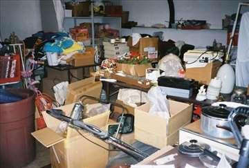 Čišćenje stanova, podruma i odnošenje pokućanstva