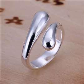 Srebrni prsten, novo 925 slanje besplatno