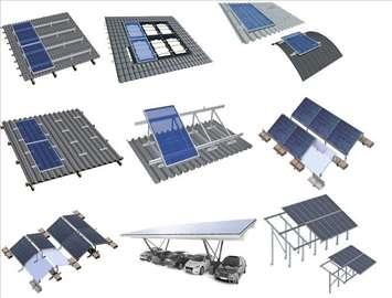 Sistemi za montažu fotonaponskih panela