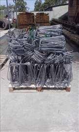 Cement, kreč, blok, armatura, mreža, fert gredice