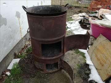 Kazan za topljenje masti - tučani