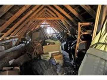 Besplatno čišćenje podruma 0-24h, Žile