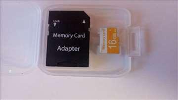 Micro sd  kartica od 16 GB klasa10