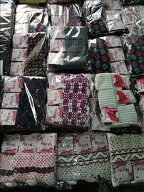 Čarape 24 pari, pamuk, čist