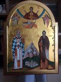 Ikona Sv Save i Sv Simeona Mirotočivog