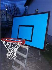 Košarkaški komplet tabla,obruč,mrežica