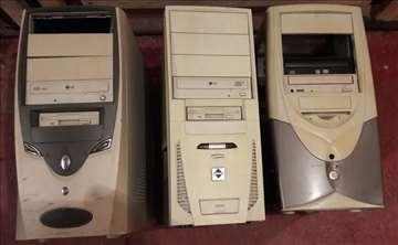 3 kompjutera + 2 tastature